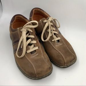 Like New Mens Sketchers Leather Shoes